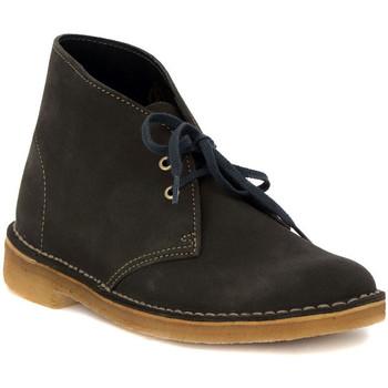 Schuhe Damen Sneaker Low Clarks DESERT BOOT  W   LODEN    157,5