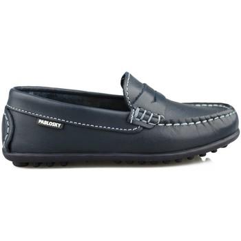 Schuhe Damen Slipper Pablosky RIDER M BLAU