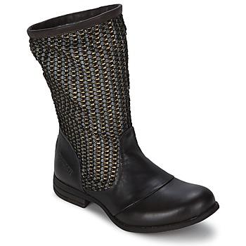 Schuhe Damen Klassische Stiefel Bunker SARA SOL Braun