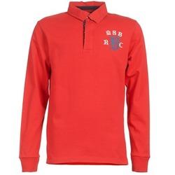Kleidung Herren Langärmelige Polohemden Serge Blanco MATO Rot