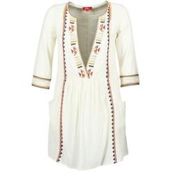 Kleidung Damen Kurze Kleider Derhy EMBOUCHURE Naturfarben