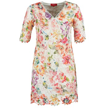 Kleidung Damen Kurze Kleider Derhy EBULLITION Naturfarben