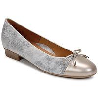 Schuhe Damen Ballerinas Ara ELIALE Grau / Gold