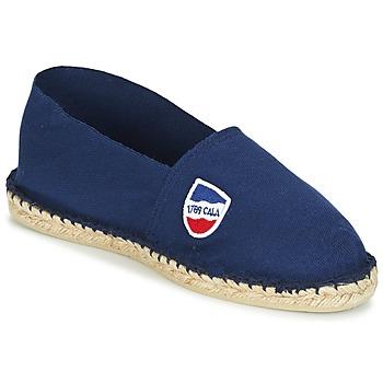 Schuhe Herren Leinen-Pantoletten mit gefloch 1789 Cala CLASSIQUE Indigo