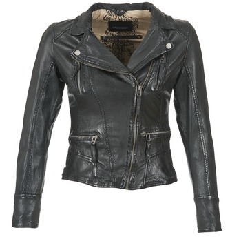 Kleidung Damen Lederjacken / Kunstlederjacken Oakwood 60861 Schwarz