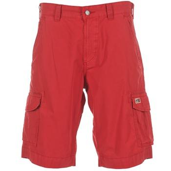Kleidung Herren Shorts / Bermudas Napapijri PORTES A Rot