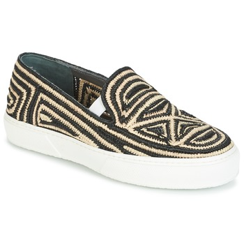 Schuhe Damen Slip on Robert Clergerie TRIBAL Schwarz