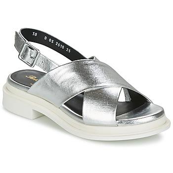 Schuhe Damen Sandalen / Sandaletten Robert Clergerie CALIENTEK Silbern