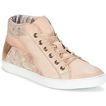 Schuhe Damen Sneaker High Dream in Green MOLIMELA Beige / Rose