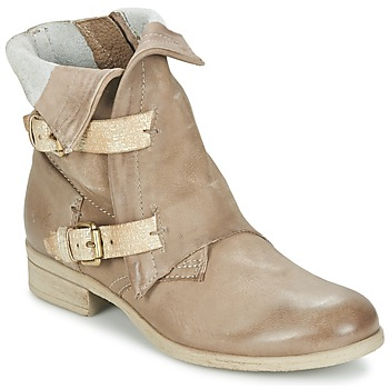 Schuhe Damen Boots Dream in Green ANJELIKA Beige