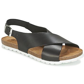Schuhe Damen Sandalen / Sandaletten Dixie OLBIA Schwarz