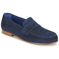 Schuhe Herren Slipper Azzaro GOURIAN Marine