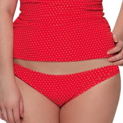Kleidung Damen Bikini Ober- und Unterteile Curvy Kate CS2705 FLAME SPOT Rot