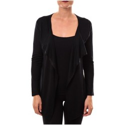 Kleidung Damen Pullover De Fil En Aiguille gilet 2020 noir Schwarz