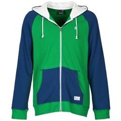 Kleidung Herren Sweatshirts Nixon ANCHOR Blau / Grün