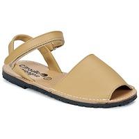 Schuhe Mädchen Sandalen / Sandaletten Citrouille et Compagnie BERLA Beige