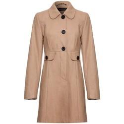 Kleidung Damen Mäntel Anastasia Wolle Winter 60 `s Mantel BEIGE