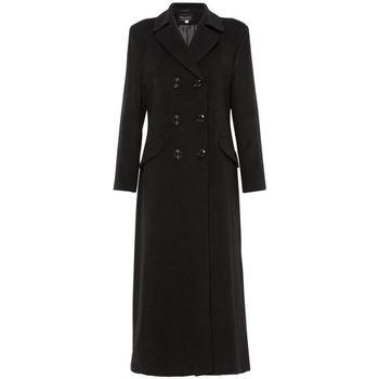 Kleidung Damen Parkas De La Creme parent schwarz