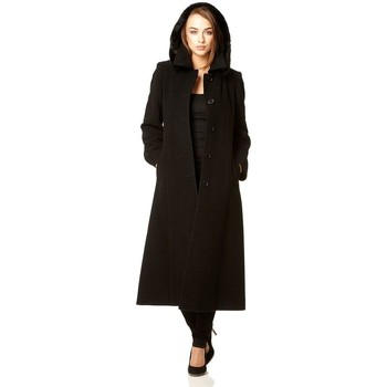 Kleidung Damen Trenchcoats De La Creme parent schwarz