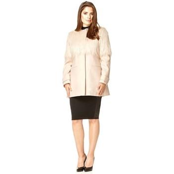 Kleidung Damen Mäntel Anastasia Wintermantel Pink