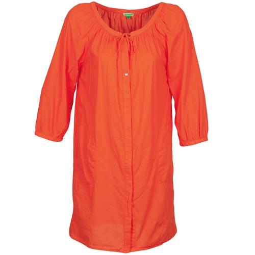 Kleidung Damen Kurze Kleider Bensimon FOURTY Orange