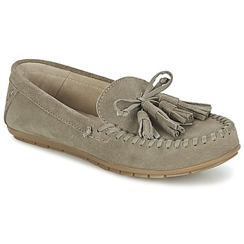 Schuhe Damen Slipper Esprit SIRA LOAFER Kaki