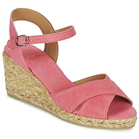 Schuhe Damen Sandalen / Sandaletten Castaner BLAUDELL Korallenrot / Rose