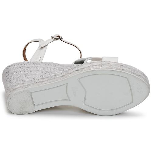Castaner BESSIE Weiss    Silbern  Schuhe Sandalen    Sandaletten Damen bde766