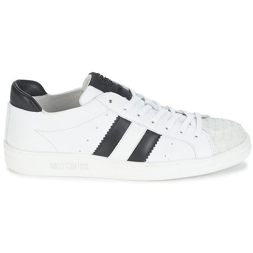 Bikkembergs BOUNCE 594 LEATHER Weiss / Schwarz  Schuhe Sneaker Low Damen 143,20