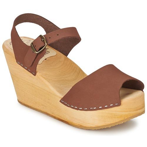Le comptoir scandinave Braun Schuhe Sandalen / Sandaletten Damen 74,50