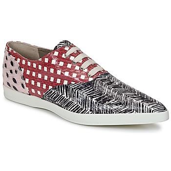 Schuhe Damen Sneaker Low Marc Jacobs Elap Schwarz / Weiss / Rot