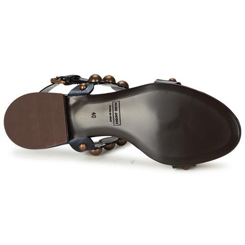 Marc Jacobs Vegetal Schwarz  Schuhe Sandalen   Sandaletten Sandaletten Sandaletten Damen f5bb4c