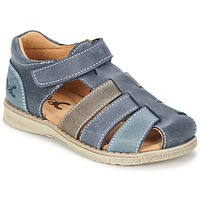 Schuhe Jungen Sandalen / Sandaletten Citrouille et Compagnie ZIDOU Marine / Grau