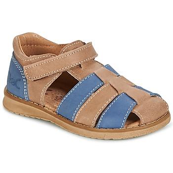Sandalen / Sandaletten Citrouille et Compagnie FRINOUI Braun / Blau 350x350