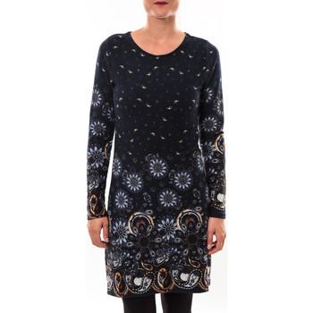 Kleidung Damen Kurze Kleider Barcelona Moda Robe pull 71565003 marine Blau