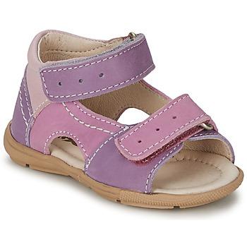 Schuhe Mädchen Sandalen / Sandaletten Citrouille et Compagnie KIMMY G Violett