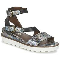 Schuhe Damen Sandalen / Sandaletten Mjus MIAMI Ecaille / Schwarz