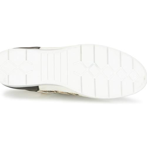 Mjus FORCE Schwarz / Weiss / Goldfarben Schuhe Sneaker Low Damen 64,50