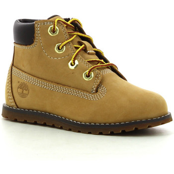 Schuhe Jungen Boots Timberland Pokey Pine 6In Boot Wheat