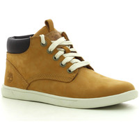 Schuhe Jungen Sneaker High Timberland Grvtn Ek Ltr Chk Whe Wheat