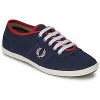 Schuhe Damen Sneaker Low Fred Perry HAYES CANVAS Blau