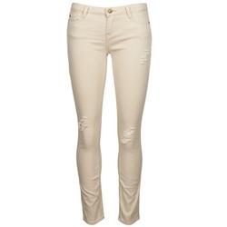 Kleidung Damen Slim Fit Jeans Acquaverde SCARLETT Beige