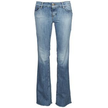 Kleidung Damen Bootcut Jeans Acquaverde ADRIANA Blau