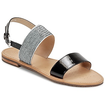Schuhe Damen Sandalen / Sandaletten Geox SOZY A Schwarz