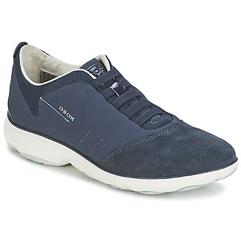 Schuhe Damen Sneaker Low Geox NEBULA C Marine