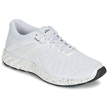 Schuhe Herren Laufschuhe Asics FUZE X LYTE WHITE NOISE PACK Weiss / Silbern