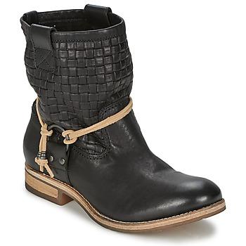 Schuhe Damen Boots Koah DANIA Schwarz