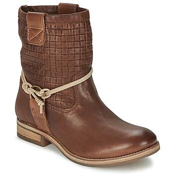 Schuhe Damen Boots Koah DANIA Braun