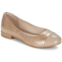 Schuhe Damen Ballerinas Clarks FESTIVAL GOLD Champagne