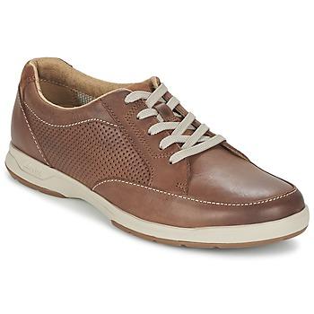 Schuhe Herren Sneaker Low Clarks STAFFORD PARK5 Braun